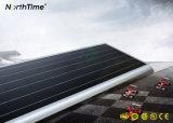 Lâmpadas de rua energy-saving do diodo emissor de luz do painel solar de sensor de movimento de PIR