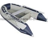 Barca di alluminio ossidata della nervatura con il tubo di Hypalon dell'orca o del PVC