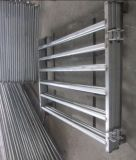 1800X2100mm 호주 타원형 가로장 강철 가축 야드 위원회 또는 이용된 가축 위원회
