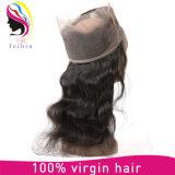 En bruto de alta calidad 360 ENCAJE peluca de pelo del cuerpo humano Barzilian