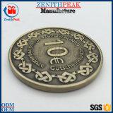 カスタム金属3Dデザイン金属の肖像画のサーブの硬貨