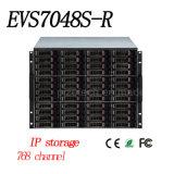Хранение канала Dahua 768 врезанное 48-HDD видео- {Evs7048s-R}