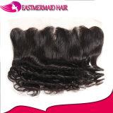 13*4 ослабленных волос Бразилии кривой кружева фронтальной