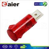 luz de indicador vermelha do diodo emissor de luz 120V de 12mm (MDX-14A)