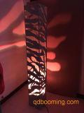 3D에 의하여 직류 전기를 통하는 회색 색깔 대나무 패턴 탑