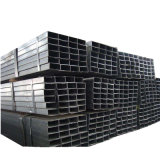Ms de acero carbono negro tubo hueco de sección rectangular de acero