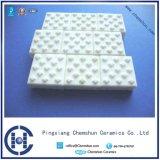 Mattonelle di ceramica di rivestimento isolante dell'allumina di industria con resistenza all'usura