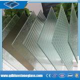 Première glace stratifiée claire chinoise de construction de production du constructeur 6.38mm-12.38mm