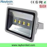 Foco LED 200W LUZ DO TUNEL para iluminação do parque de estacionamento exterior