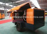 De gewonnen van de Diesel van de Producten 18bar van China Nationale inspectie-Vrije Beweegbare Compressor Lucht van de Schroef voor Gebruikte de Put van het Water