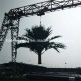 직류 전기를 통한 5-50m Hot-DIP 통신 나무 탑을 매체 물결친다