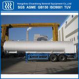De aspiración del depósito vacío criogénicos camión cisterna semi remolque