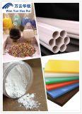 O uso de plástico Rutilo grau o dióxido de titânio