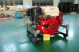 9HP peso ligero de bomba contra incendios portátil con Honda Motor