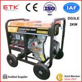 2kw Diesel Generator Set with Safety Protections