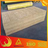 Placa externa impermeável de lãs de rocha da isolação térmica da parede (edifício)