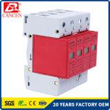 parascintille solare del sistema di CC delle unità SPD PV della protezione di impulso di 100ka 1p+N