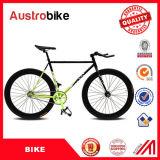卸し売り安く安い高品質多彩な固定ギヤバイクの固定バイクの黒の販売の販売のための固定バイクアルミニウム
