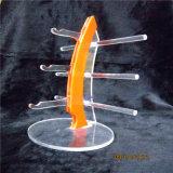 De Tribune van de Vertoning van de Glazen van de Houder van het Rek van de Zonnebril van de Trots van de wereld (Sinaasappel)