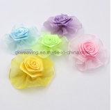 Цветок смычка тесемки Rose тесемки смычка одежды