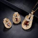 Jóia nupcial Dubai do ouro de 2017 senhoras do projeto do contador da loja de jóia da forma