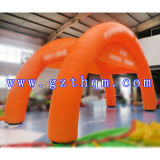 膨脹可能なAdvertizing ArchかオックスフォードCloth Inflatable Arch/Inflatable Double Arch