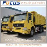 HOWO 8X4 12 Wheels 30cbm Heavy Duty tip by dump Truck
