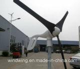gerador de turbina horizontal do vento 400W popular para a baixa área do vento