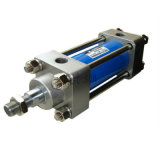 Cylindre employé couramment de pétrole hydraulique de tige de renfort