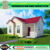 Südafrika-modernes Fertighaus/faltbares Behälter-Flachgehäuse-Haus
