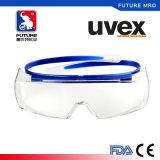 Uvex Claro Nevoeiro Anti óculos de segurança à prova de pó de protecção ocular com asas laterais