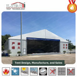 la tente de hangar de largeur de 30m avec enroulent des portes