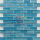 Pintura Desenho Colorido a mão de vidro Crystal Pool Mosaicos