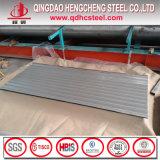 電流を通された鉄の屋根ふき版の波形の屋根ふきシート