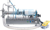 Полуавтоматный пневматический жидкостный заполнитель, горизонтальная машина завалки Собственн-Всасывания с одним соплом