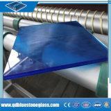 vidro laminado azul ácido de construção de 8.76mm para a porta/Windows