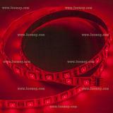 IP65 impermeabilizan la luz de tira flexible de SMD5050 el 14.4W/M RGB LED