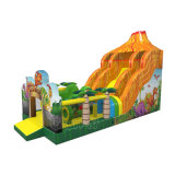 Jurassic вулкан надувные слайд для детей Chsl1139