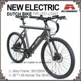 """Elektrisches Mens-Fahrrad 26 """" Holand Oma holländisches Licht des Batterie-Fahrrad-LED"""