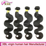 Natural Raw Virgin Indian Hair Wholesale Remy Weave de cabelo humano