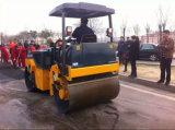 중국 상표 6ton 두 배 드럼 판매를 위한 진동하는 도로 롤러