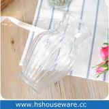 De dubbele Oren ontwerpen de Duidelijke Vaas van het Glas