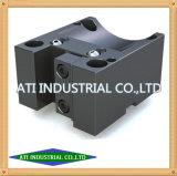 Moagem de CNC de alta precisão Pequeno componente de metal Máquinas Central Peças Furadeira de coluna
