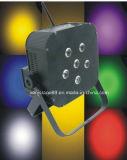 6 pièces 10W LED Batterie sans fil PAR Lighting