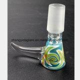 Mannetje 14.5mm, 18.8mm de Toebehoren van het gebrandschilderd glas van de Pot van de Rook van het Glas
