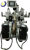 両面の丸ビンの立場のAshesiveのパッキング機械装置