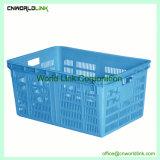 Plastique HDPE empilables de lait et pain boîte perforée de stockage