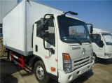 Piccolo camion del frigorifero di Dayun 4X2 Freezer Van Truck 3tons da vendere