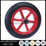 Roda de pneus de borracha maciça para Trolley e o Carrinho
