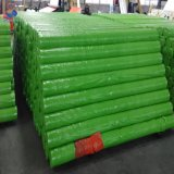 La bâche de protection en plastique de couleur verte avec le prix de rouleau